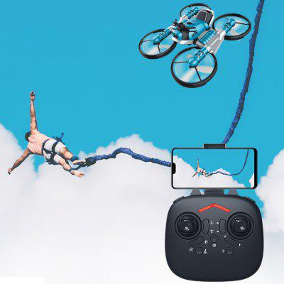 Folding Remote Control Motorcycle Deformation Aircraft