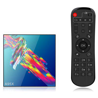 A95X R3 Android 9,0 intelligens TV Box