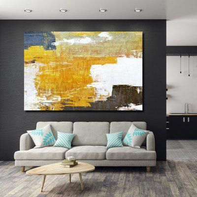 QINGYAZI HQS19108 Hand-painted Abstract Oil Painting Frameless Paintings Home Wall Art