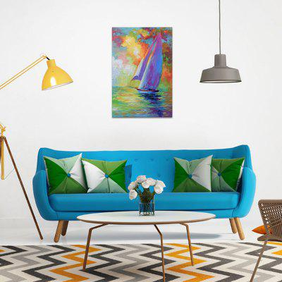 Abstract Theme Rolling Hand-painted Oil Painting