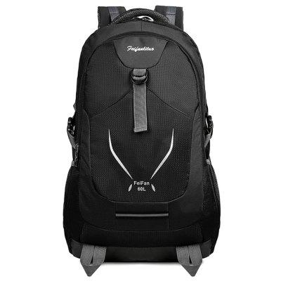 Men's Fashion Travel Backpack 60L grote capaciteit Minimalist Computer Bag