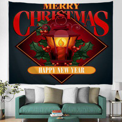Christmas Lighting Pattern Digital Printing Tapestry Hanging Cloth