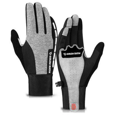 Herren Winter Outdoor Reiten Winddichte Handschuhe Warmer Wasserdichter Handschuh Touchscreen