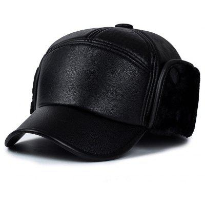 Men's Fashion Warm Bomber Hat Winter Ear Protection Baseball Cap