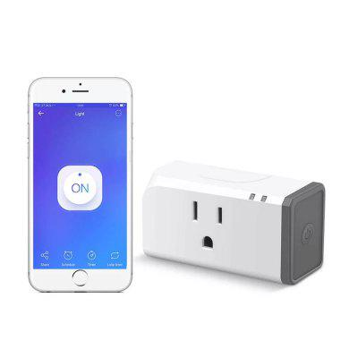 SONOFF S31 Lite Smart WiFi Socket App Remote Control Plug Werken met Amazon Alexa Google Assistant