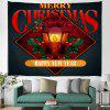 Christmas Lighting Pattern Digital Printing Tapestry Hanging Cloth - MULTI-A