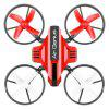 L6082 DIY All-in-one Genius aer trântor RC Quadcopter RTF - ROșU