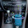 Car Home Silent Mode USB Charging Humidifier with Colorful Light - BLUE IVY