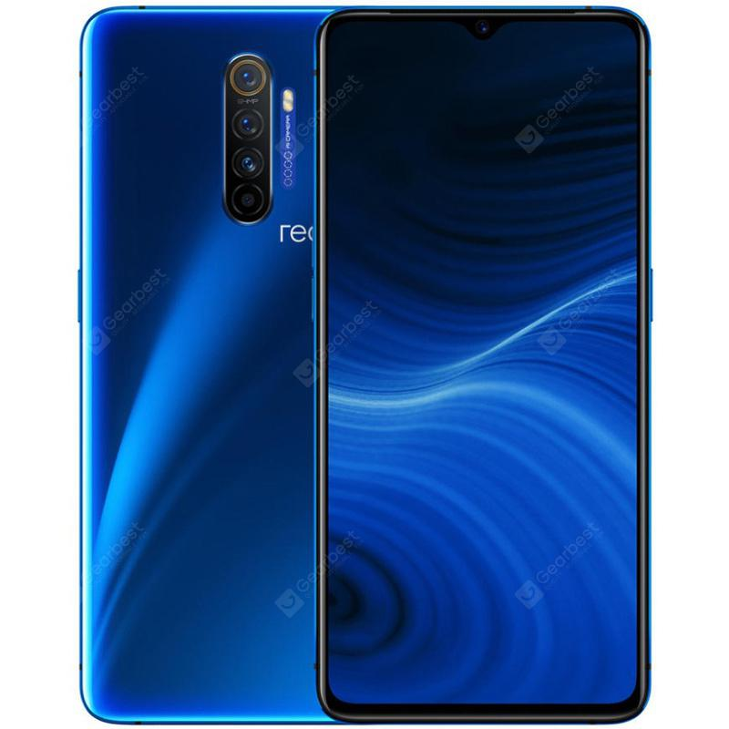 OPPO Realme X2 Pro 4G Smartphone 6.5 inch FHD+ Android 9.0 Snapdragon 855 Plus Octa Core 8GB RAM 128GB ROM 4 Rear Camera 4000mAh Battery Global Version - Blue