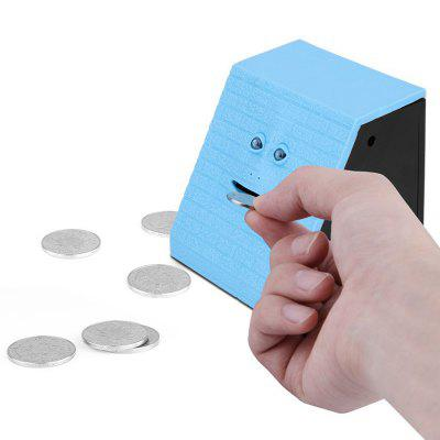 Gezicht Bank Creative Electric Induction Piggy Bank Toy