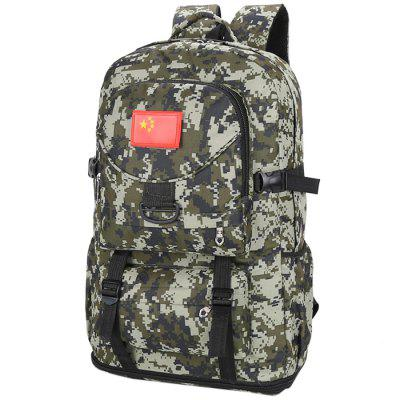 Durable Unisex Multi-purpose Camouflage Backpack Montanhismo Bag