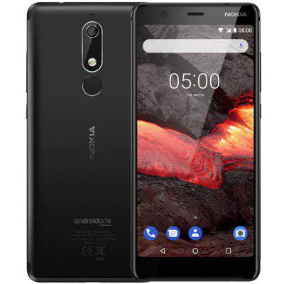 Nokia 5.1 4G Phablet 5.5 inch Android 9 Pie MT6755S Octa Core 3GB RAM 32GB ROM 16.0MP Rear Camera 2970mAh Battery Indian Version Image