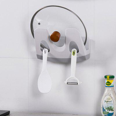 U-shaped Buckle Wall-mounted Drain Pot Holder Cutting Board Storage Rack