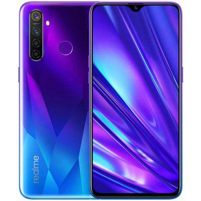 OPPO Realme 5 Pro 4G Smartphone 6.3 inch FHD+ Android 9.0 Snapdragon 712 AIE Octa Core 8GB RAM 128GB ROM 4 Rear Camera 4035mAh Battery Global Version Image
