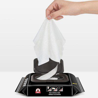Wet Cleaning Wipes for White Shoes Leather Shoes Beauty Wipes Cleaner 30pcs/Box