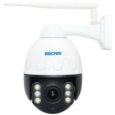Escam Q2068 1080P HD Outdoor PTZ WiFi-netwerk IP Camera Night Vision Two Way Audio IP66 Waterdicht Home Security System