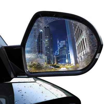 Baseus 0.15mm Car Rearview Mirror Clear Film Anti-fog Window Foils Rainproof Protective Sticker 2pcs