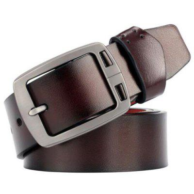 Men Antique Finish Retro Belt Durable Casual Waistband