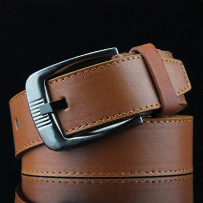 Men's FashionPin Buckle Belt  Casual Solid Color Easy-match Waistband