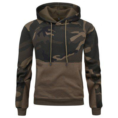 Casual Camouflage capuchon Fashion Printed Hoodie