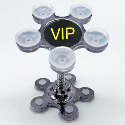Magic Sucker Phone Holder Double-sided Silicone Suction Cup Bracket