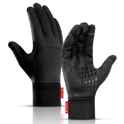 Men's Outdoor Warm Windproof Gloves Cycling Touch Screen Sports Glove
