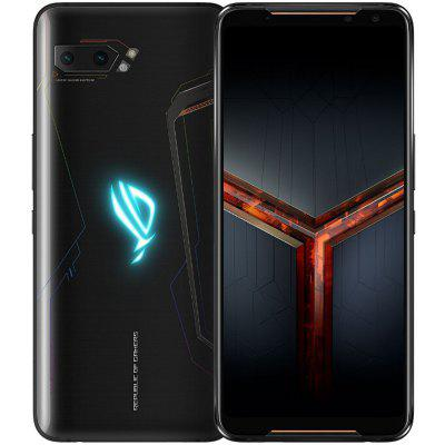 ASUS ROG Phone 2 Gaming 4G Smartphone 6.59 Inch Android Pie Snapdragon 855 Plus Octa Core 8GB RAM 128GB ROM 2 Rear Camera 6000mAh Battery النسخة العالمية