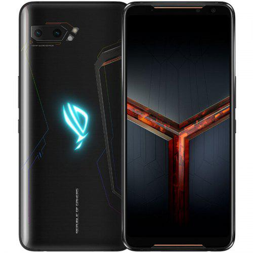 ASUS ROG Phone 2 Gaming 4G Smartphone 6.59 inch Android Pie Snapdragon 855 Plus Octa Core 8GB RAM 128GB ROM 2 Rear Camera 6000mAh Battery Global Version