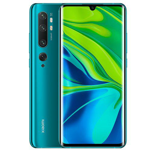 489.99 - LIMITED OFFER: Xiaomi Mi Note 10 (CC9 Pro)  - 108MP Penta Camera Phone - Global Version - Green