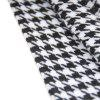 Men's Fashion Houndstooth Scarf Business Casual Warm Neckerchief - WHITE