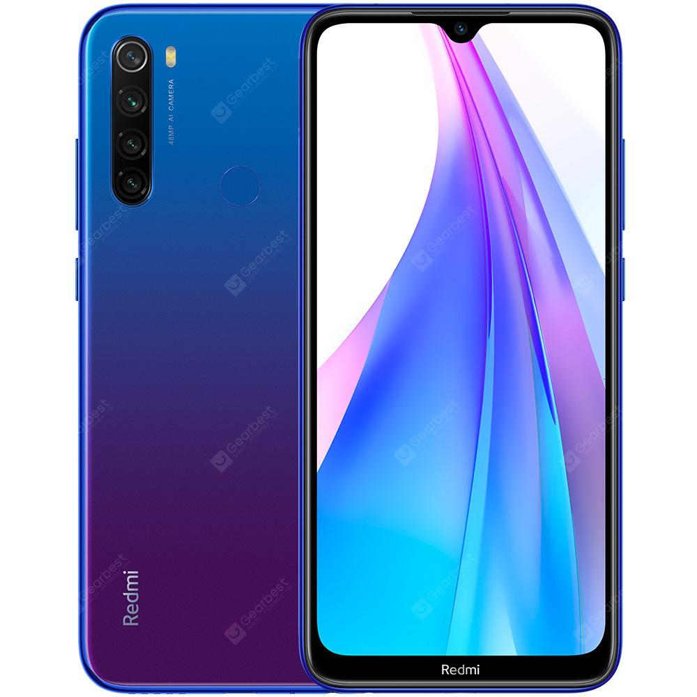 Xiaomi Redmi Note 8T 4G Phablet 6.3 inch Snapdragon 665 Octa Core 4GB RAM 64GB ROM 4 Rear Camera 4000mAh Battery Global Version - Blue