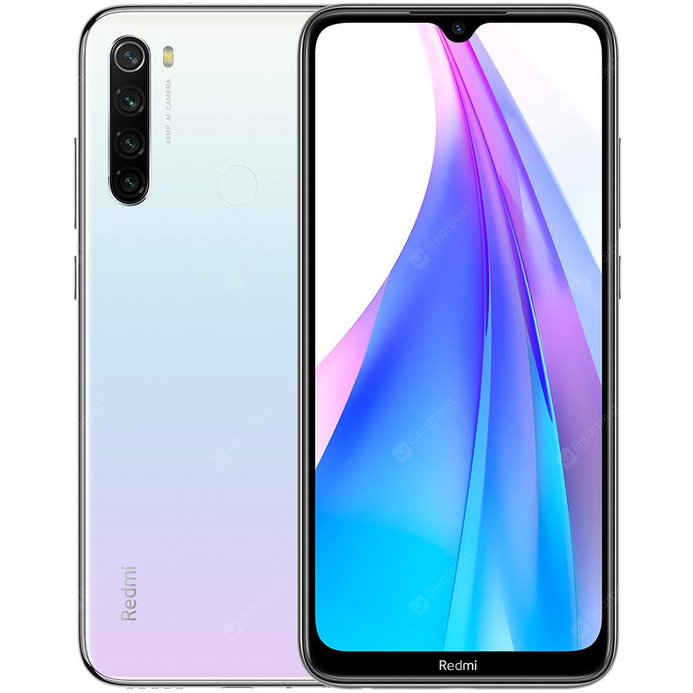 Xiaomi Redmi Note 8T 4G Phablet 6.3 inch Snapdragon 665 Octa Core 4GB RAM 64GB ROM 4 Rear Camera 4000mAh Battery Global Version - White