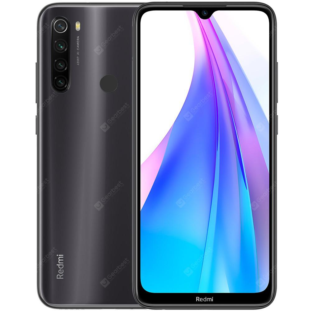 Xiaomi Redmi Note 8T 4G Phablet 6.3 inch Snapdragon 665 Octa Core 4GB RAM 64GB ROM 4 Rear Camera 4000mAh Battery Global Version - Gray