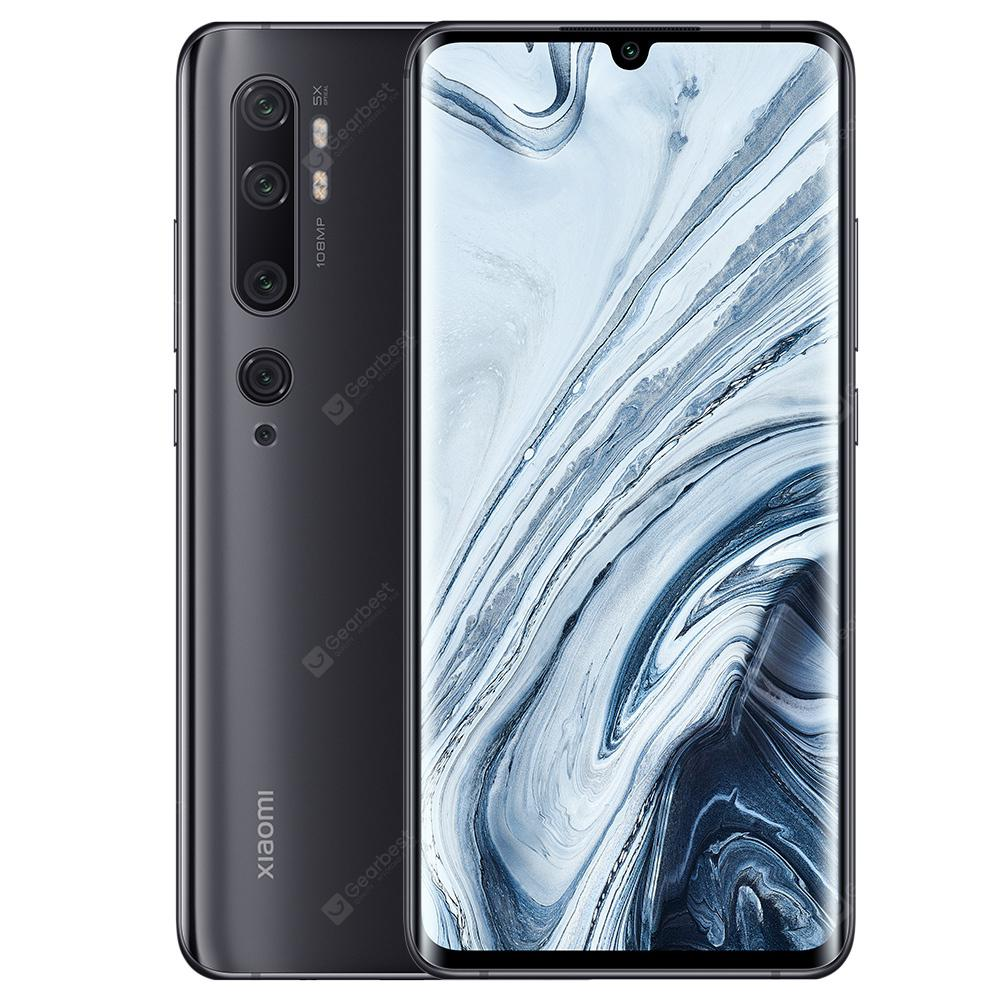 Xiaomi Mi Note 10 (CC9 Pro) 108MP Penta Camera Mobile Phone Global Version Online Smartphone - Black