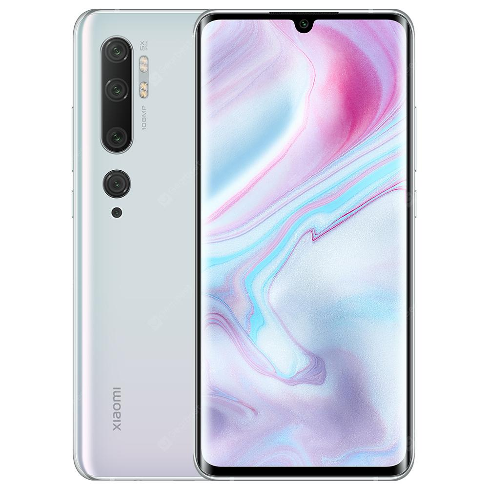 Xiaomi Mi Note 10 White Cell phones Sale, Price & Reviews | Gearbest