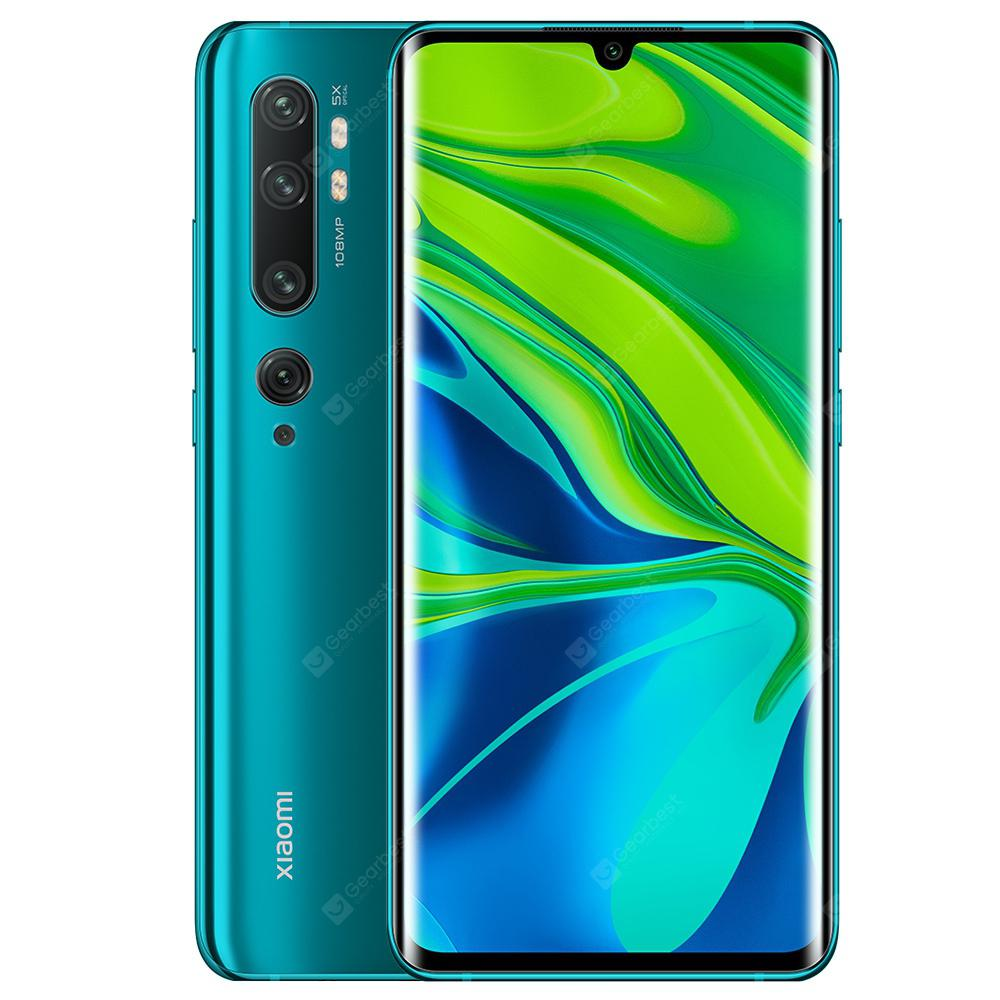Xiaomi Mi Note 10 (CC9 Pro) 108MP Penta Camera Phone Global Version | Gearbest
