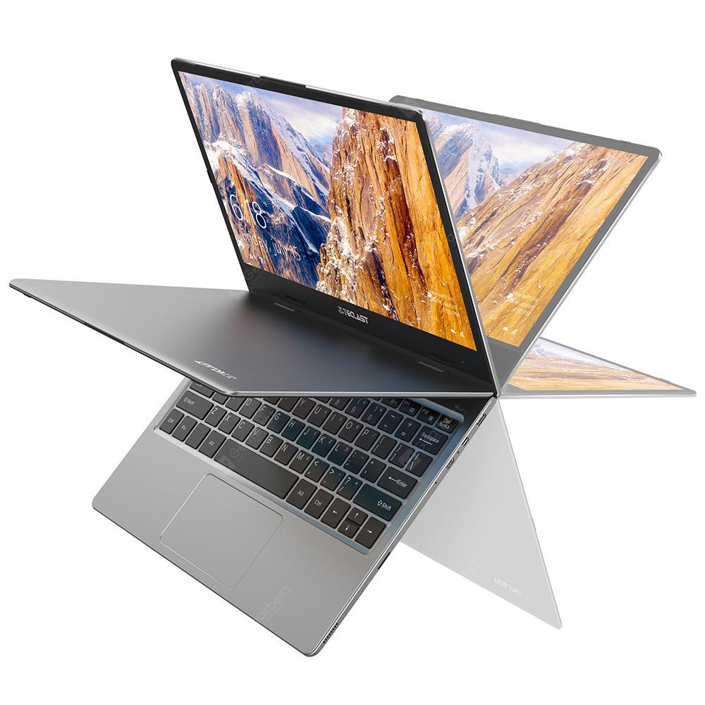 Teclast F5 Laptop 11.6 Inch 360 Degree Rrotullues Ekrani me Prekje Prekje Windows 10 Shtëpi Intel Binjakët Liqeni N4100 Quad Core 1.1GHz 2.4GHz 8GB RAM 256GB SSD