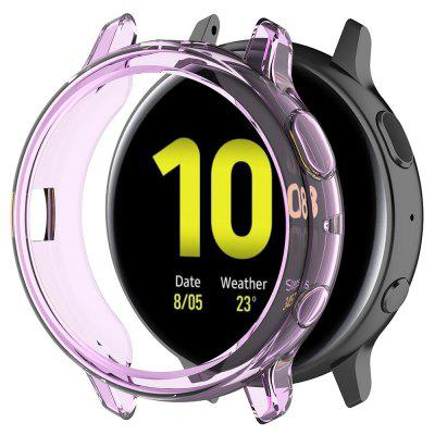 Half-cover Transparent TPU Soft Protective Shell for Samsung Galaxy Watch Active 2th 44mm R820