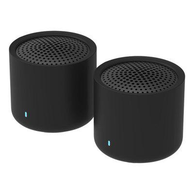 Xiaomi XMYX05YM Portable TWS Bluetooth 5.0 Speakers Mini 2.0 Dual-channel Wireless Stereo Bass Subwoofer with HD Mic 2pcs