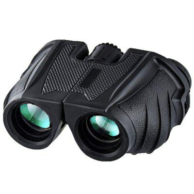 Portable Lightweight 10 x 25 Wide Angle All-optical Binocular HD View Adjustable Pupil Distance Telescope