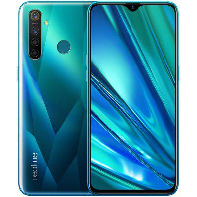 OPPO Realme 5 Pro 4G Smartphone 6.3 inch FHD+ Android 9.0 Snapdragon 712 AIE Octa Core 4GB RAM 128GB ROM 4 Rear Camera 4035mAh Battery Global Version Image