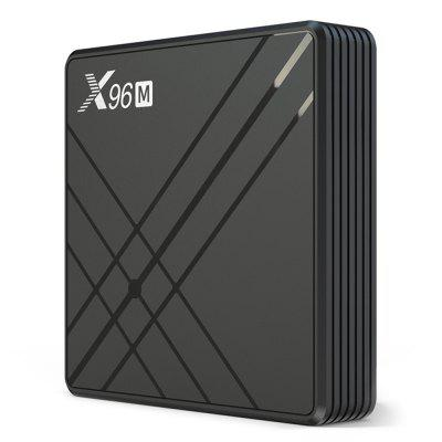 X96 X96M Android 9.0 Smart 6K TV Box met Allwinner H603 2,4 GHz WiFi 100Mbps USB3.0 VP6, VP8, VP9 H.265 Ondersteuning 4K 60fps