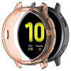 Half-cover Transparent TPU Soft Protective Shell for Samsung Galaxy Watch Active 2th 44mm R820 - MANGO ORANGE