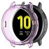 Half-cover Transparent TPU Soft Protective Shell for Samsung Galaxy Watch Active 2th 44mm R820 - TYRIAN PURPLE