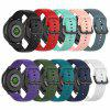 Colorful Silicone Strap for Samsung Galaxy Watch Active 2th - DARK FOREST GREEN