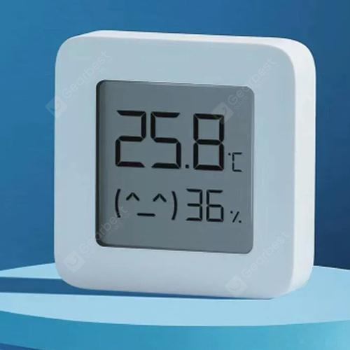 Xiaomi Mijia LYWSD03MMC Smart Bluetooth 4.2 Electric Thermometer Second Generation Supports Mijia APP - White 1pc