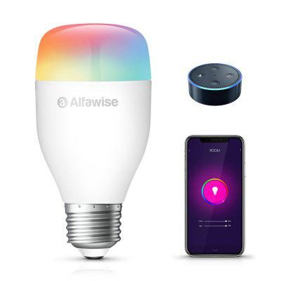 Alfawise LE12 E27 9W 900LM Ampoule LED Intelligente WiFi APP / Voix / Smart