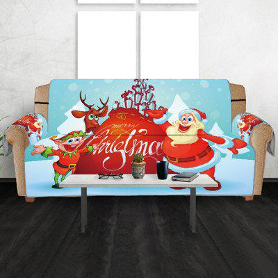 Christmas Letter Tisk Home Sofa Cover