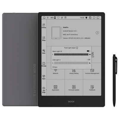 BOOX Note Pro 10.3 inch HD E-ink Screen eReader Android 6.0 Dual Touch Modes E-book Reader 4GB RAM 64GB ROM