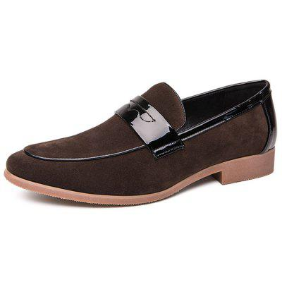 AILADUN Men's England Style Slip-on Casual Shoes Fashion Nubuck Uppers Footwear